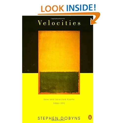 Velocities: New and Selected Poems: 1966-1992 (Poets, Penguin)