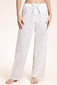 Pure Cotton Floral Pyjama Bottom [T37-2257-S]