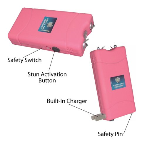 Streetwise Small Fry 7.5 Million Volt PINK Rechargeable