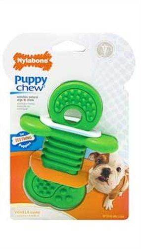 Nylabone Puppy Rhino Teethers Chew Toy, Small