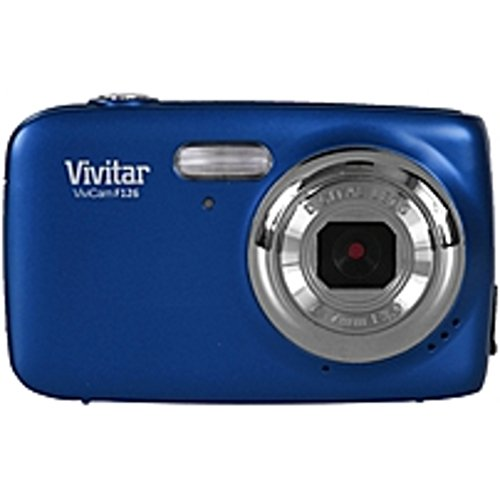 Vivitar Blue ViviCam F126 Digital Camera with 14 Megapixels (Camera Digital Vivitar compare prices)