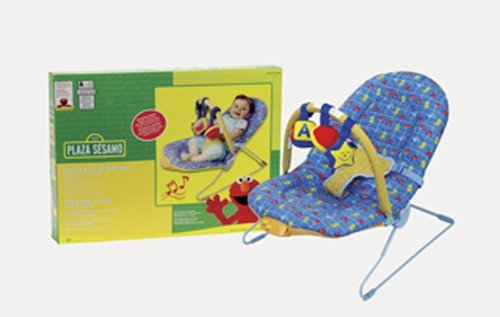Sesame Street Musical Toys : Sesame street musical vibrating bouncer baby toddler