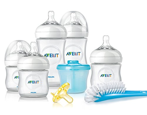 Philips Avent Natural Newborn Baby Bottle Starter Set, SCD296/02 (Bpa Baby Bottles compare prices)