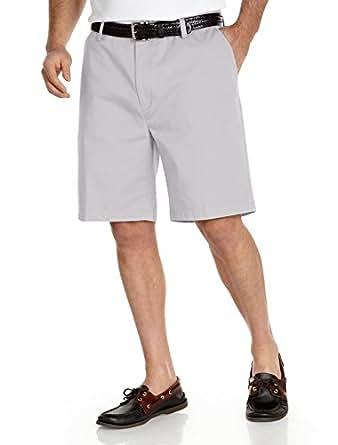 Nautica Big & Tall Flat-Front Shorts
