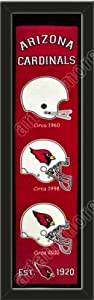 Heritage Banner Of Arizona Cardinals-Framed Awesome & Beautiful-Must For A... by Art and More, Davenport, IA