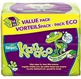 Pampers Kandoo - Lingettes de toilette - Le paquet de 110 lingettes