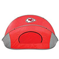 NFL Kansas City Chiefs Manta Portable Pop-Up Sun/Wind Shelter from Picnic Time