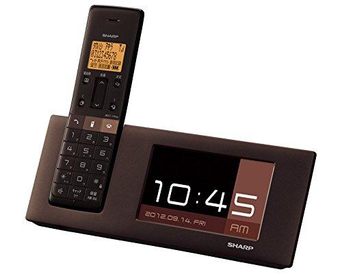 シャープ デジタルコードレス電話機 親機のみ 1.9GHz DECT準拠方式 ブラウン系 JD-4C2CL-T