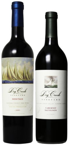 Dry Creek Vineyard Red Wines Mixed Pack (Library Edition), 2 X 750 Ml
