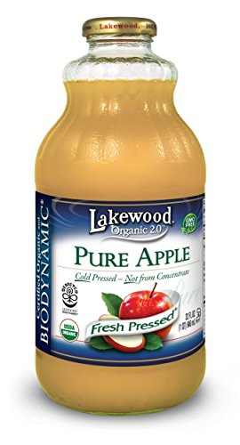 Lakewood Organic Biodynamic Juice, Pure Apple, 32 Ounce (Pack of 6) (Apple Juice Pure Pressed compare prices)
