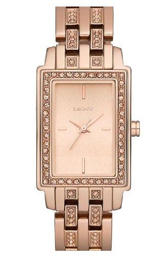 DKNY 3-Hand with Glitz Women's watch #NY8625