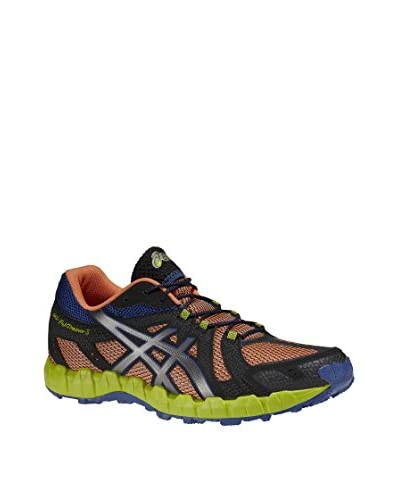 Asics Sneaker Performance Gel-Fujitrainer 3 [Arancione/Grigio/Nero]