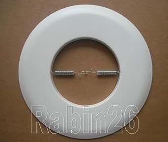 metal open trim ring for 6 inch ceiling r30 par 30. Black Bedroom Furniture Sets. Home Design Ideas