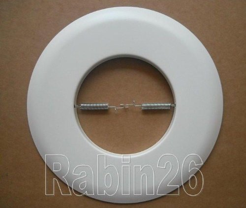 Metal Open Trim Ring for 6 Inch Ceiling R30 PAR 30 Recessed Light Can - White
