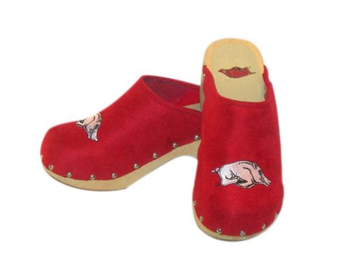 Cheap Arkansas Razorbacks Clogs (B00138TYVY)
