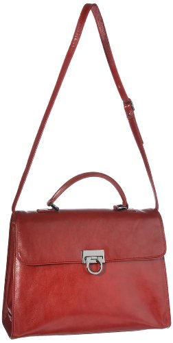 Leonhard Heyden Women Florenz Remake 5701-005 Briefcases Red Medium