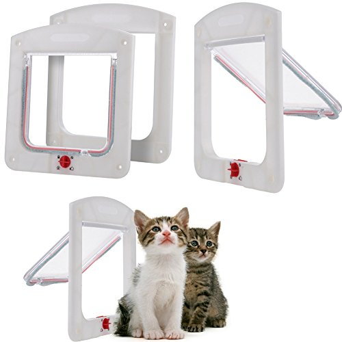 Cat doors flaps what cats need for Dog door flap material