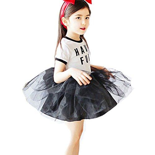 Beautyhouse - Vestido - Sin mangas - para niña Blanco blanco 4 años