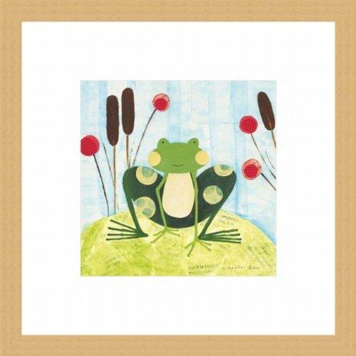 Barewalls Wall Decor by Nicole Bohn, The Pretty Green Frog