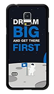 """Humor Gang Dream Big Quote Printed Designer Mobile Back Cover For """"Samsung Galaxy S5"""" (3D, Glossy, Premium Quality Snap On Case)"""