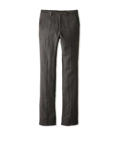John Varvatos Collection Men's Mid Rise Slim Fit Straight Leg Pant