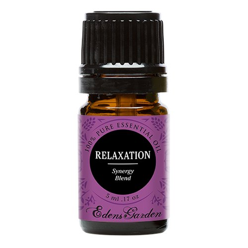 Relaxation Synergy Blend Essential Oil by Edens Garden (Lavender, Marjoram, Patchouli, Mandarin, Geranium & Chamomile)- 5 ml