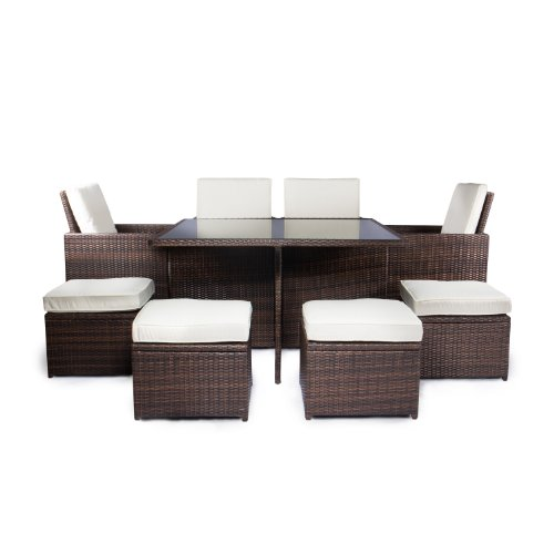Vanage-Gartenmbel-Sets-GartengarniturGartenmbel-Chill-und-Lounge-Set-Sydney-braun-creme