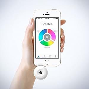 """世界初 アプリ 連動 香水 !  iPhone が パフューム フォンに 大変身 ♪ 着信 プッシュや アラーム を 素敵な 香りで 通知! 連絡が きっと もっと 楽しくなる ア""""プ""""セサリ【 正規品 】 Scentee Balloon スターター キット"""
