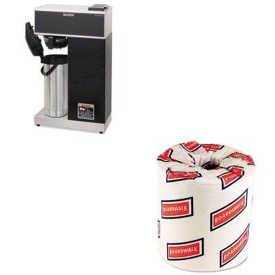 Kitbunvprapsbwk6180 - Value Kit - Bunn Coffee Airpot Coffee Brewer (Bunvpraps) And White 2-Ply Toilet Tissue, 4.5Quot; X 3Quot; Sheet Size (Bwk6180)