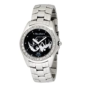Marc Ecko Men's E95016G4 Silver Stainless Steel Rhino Logo Watch