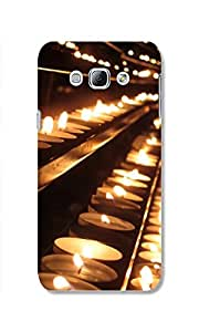CANDLE PRINTED CASE FOR SAMSUNG GALAXY A8