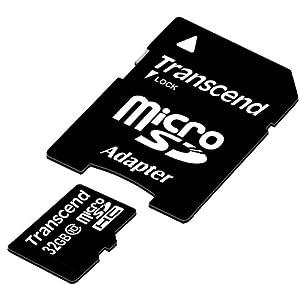 Transcend microSDHCカード 32GB Class10 TS32GUSDHC10E (FFP)