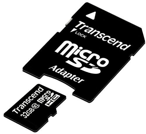 【Amazon.co.jp限定】Transcend microSDHCカード 32GB Class10 (無期限保証) TS32GUSDHC10E (FFP)