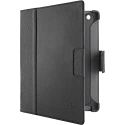 Belkin Cinema Leather Folio Case / Cover with Stand for the Apple iPad with Retina Display (4th Generation) & iPad 3 and iPad 2 (Black)