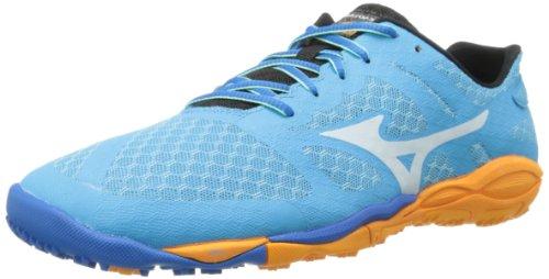 Mizuno Women's Wave Evo Ferus Running Shoe,Blue,6.5 B US