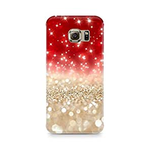 Ebby Falling Sparkles Premium Printed Case For Samsung S6 Edge G9250