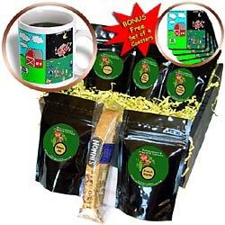 Londons Times Funny Music Cartoons - Barn Dance Tonight - Coffee Gift Baskets - Coffee Gift Basket