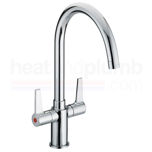 Bristan Design Utility Lever Monobloc Sink Mixer Tap Chrome Plated