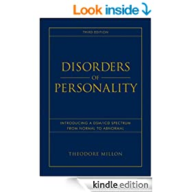 Disorders of Personality: Introducing a DSM/ICD Spectrum from Normal to Abnormal (Wiley Series on Personality Processes)