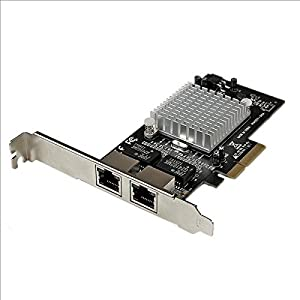 STARTECH.COM Dual Port PCI Express (PCIe x4) Gigabit Ethernet Server Adapter Network Card - Intel i350 NIC / ST2000SPEXI /