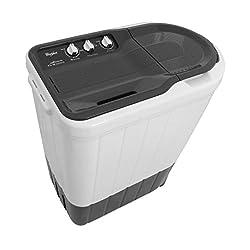 Whirlpool Superb Atom 62I Semi-automatic Top-loading Washing Machine (6.2 kg, Dark Grey)