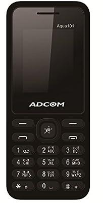 ADCOM Aqua 101 dual sim mobile phone_ Black