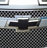 2 PCS Black Chevrolet Cruze 2009-2014 Carbon Fiber Emblem Sticker