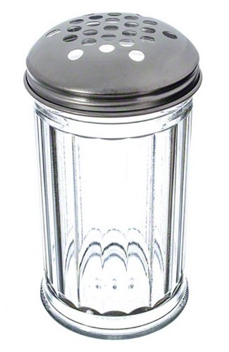 American Metalcraft (SAN319) 12 oz Plastic Cheese Shaker w/Extra Large Holes Lid (Shaker Container compare prices)