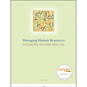 VangoNotes for Managing Human Resources, 5/e | [Luis Gomez-Mejia, David Balkin, Robert Cardy]