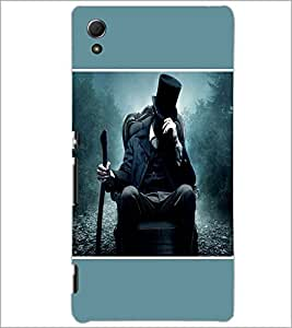 PrintDhaba Snow Hunter D-1438 Back Case Cover for SONY XPERIA Z4 (Multi-Coloured)