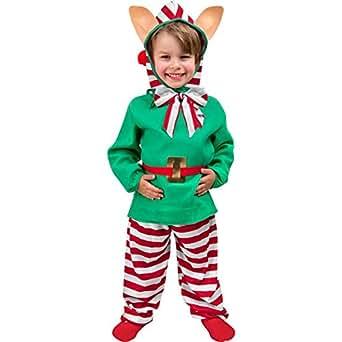 Buy childs toddler christmas elf costume 1 2t online at - Traje de duende para nino ...