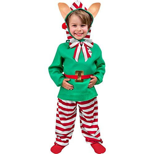 Child's Toddler Christmas Elf Costume (2-4T)