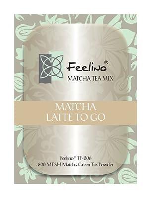"""Matcha 100g """"Latte to Go"""", ideal für Matcha Shakes oder Smoothies - direkt vom Großhandel! von Feelino - Gewürze Shop"""