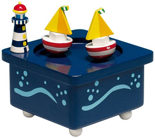 MusicBox Kingdom 43729 Dancing Boats Music Box Playing